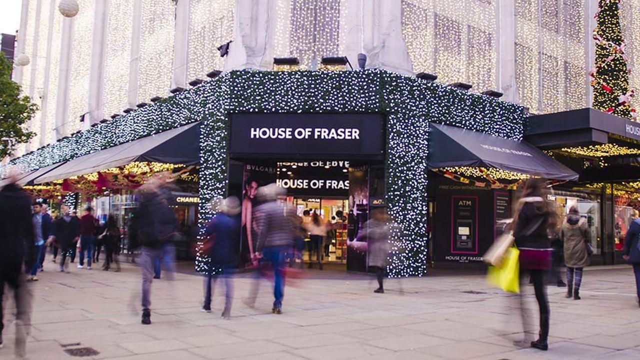 Les ventes dans les magasins britanniques ont reculé de 1,9% au mois de décembre, d'après un rapport du cabinet BDO.