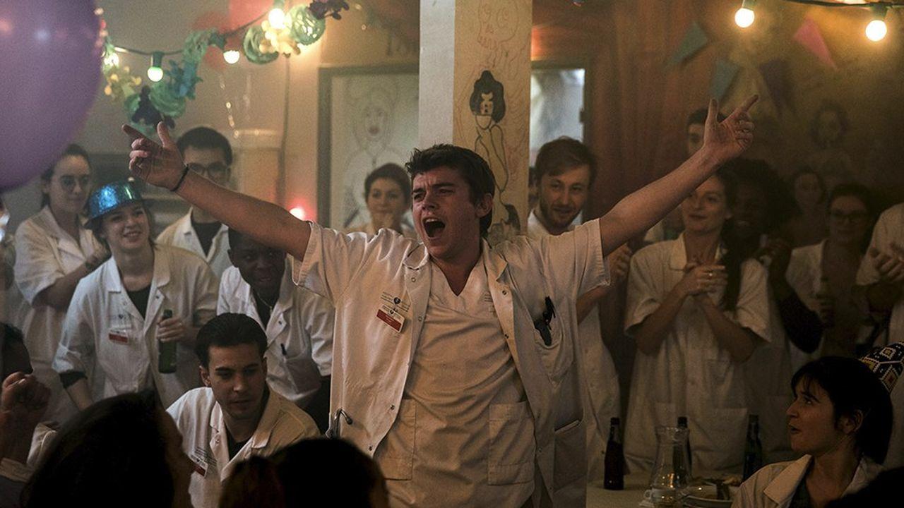 La série «Hippocrate», une création originale de Canal+ qui remporte un beau succès critique.