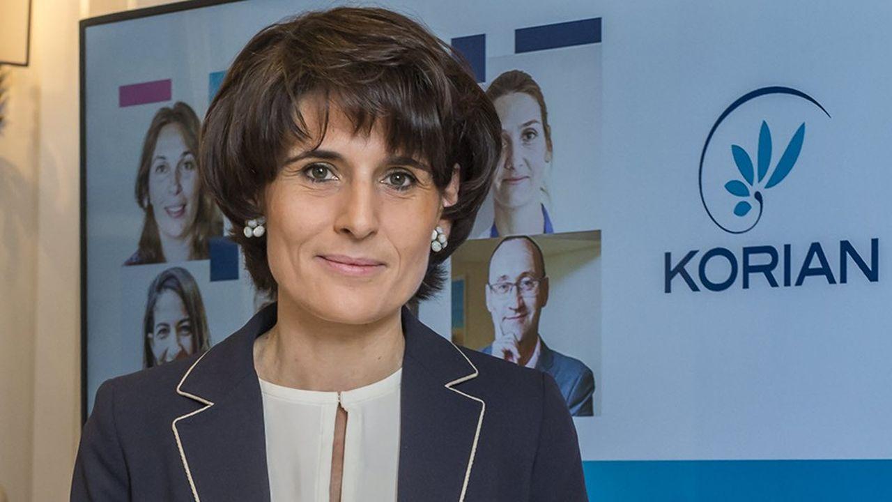 Sophie Boissard, directrice générale du groupe Korian.