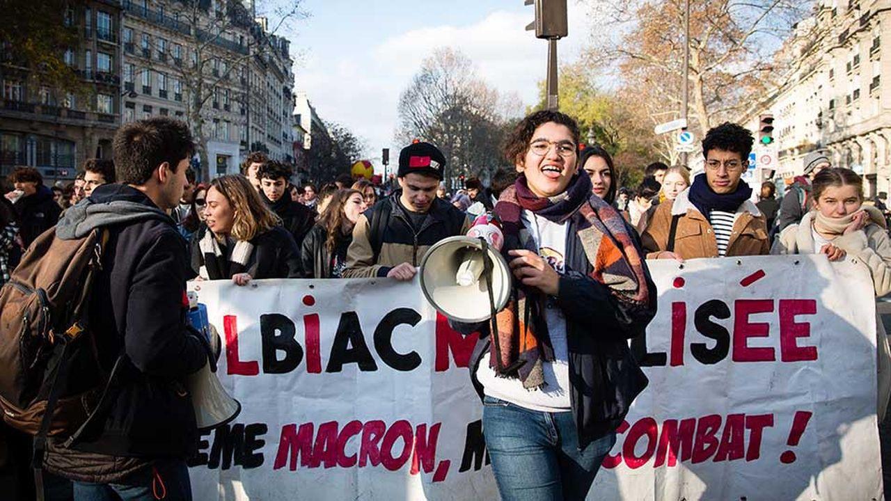 La Fage, première organisation étudiante, appelle à un nouveau rassemblement à Paris, le 22janvier.