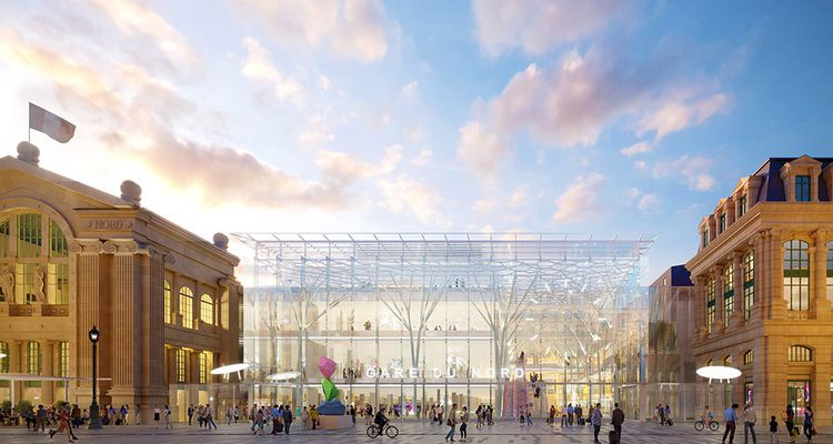 La gare située au coeur de Paris, continuera de fonctionner pendant les travaux, une gageure