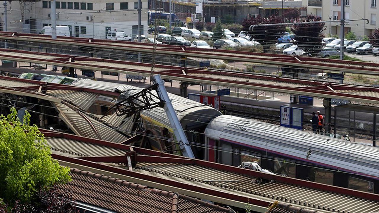 Le déraillement du train Intercités 3657 en gare de Brétigny-sur-Orge avait fait sept morts et 61 blessés le 12juillet 2013.