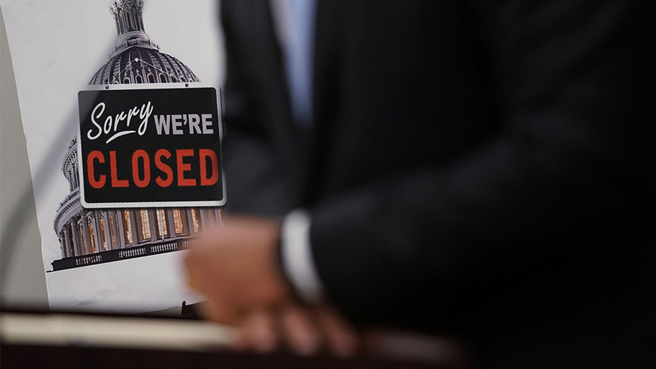 Depuis le 21 décembre, neuf ministères et nombre d'agences gouvernementales ont dû fermer leurs portes ou réduire leur activité faute de financements.