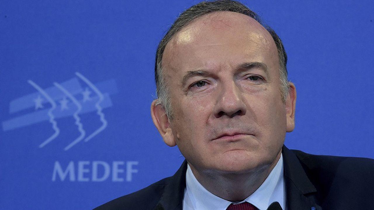 Pierre Gattaz, président de Radiall et de BusinessEurope, est l'ancien patron du Medef.