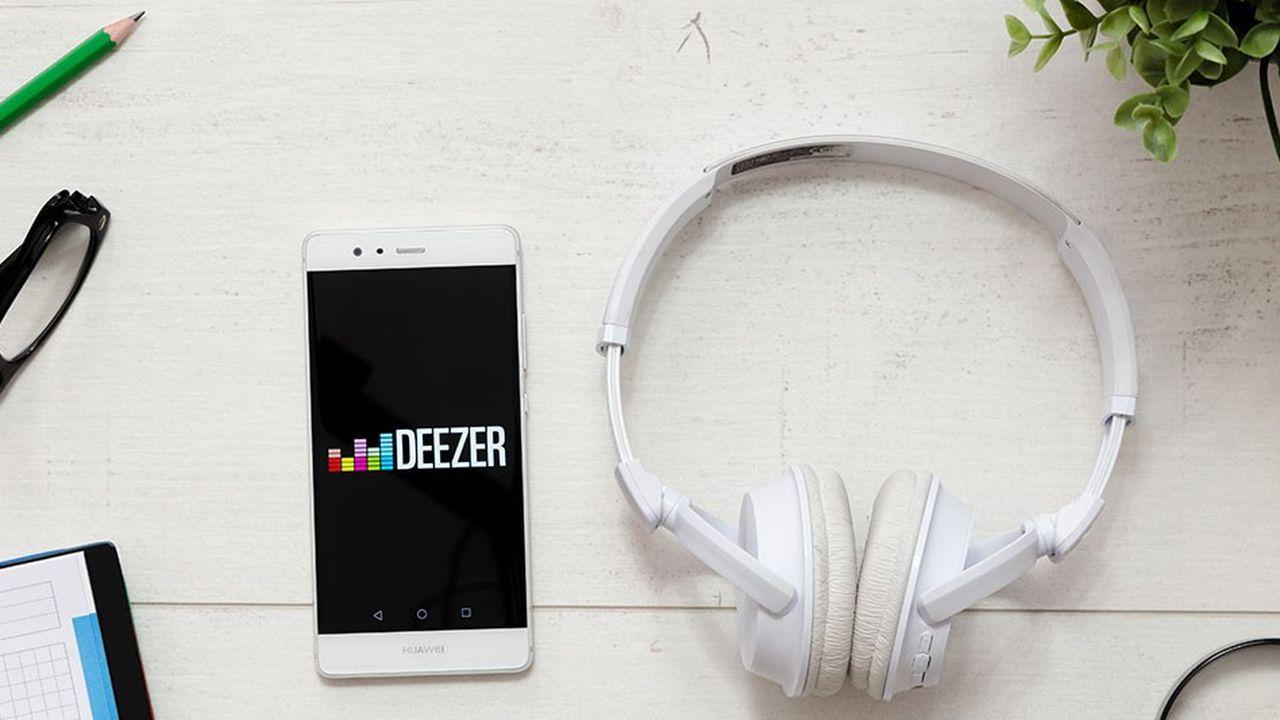 Deezer a levé 185 millions de dollars l'été dernier.