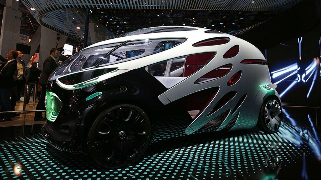 Le concept-car de Mercedes Vision Urbanetic présenté cette semaine au CES de Las Vegas.