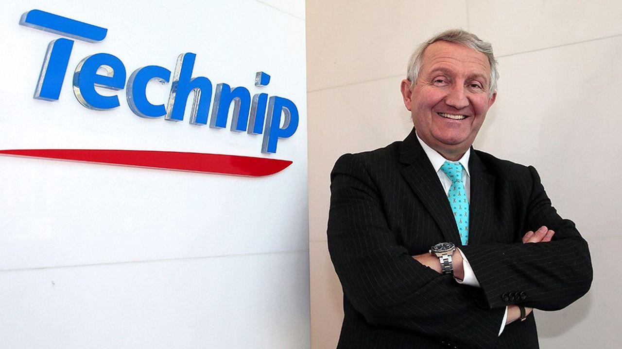 Thierry Pilenko, 61 ans, était PDG de Technip de 2007 à 2017. Depuis la fusion avec l'américain FMC, il était «président exécutif» du nouvel ensemble dirigé par Doug Pferdehirt.