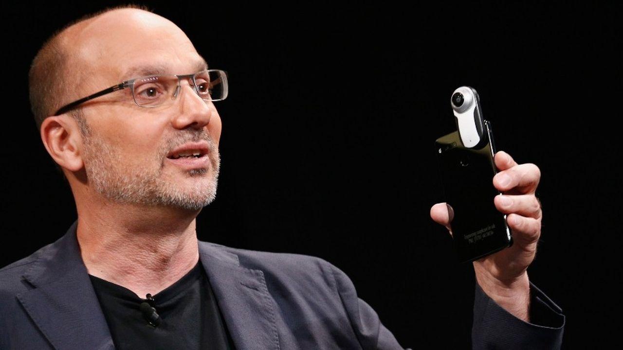 A son départ de Google, Andy Rubin le fondateur d'Android a touché 90millions de dollars