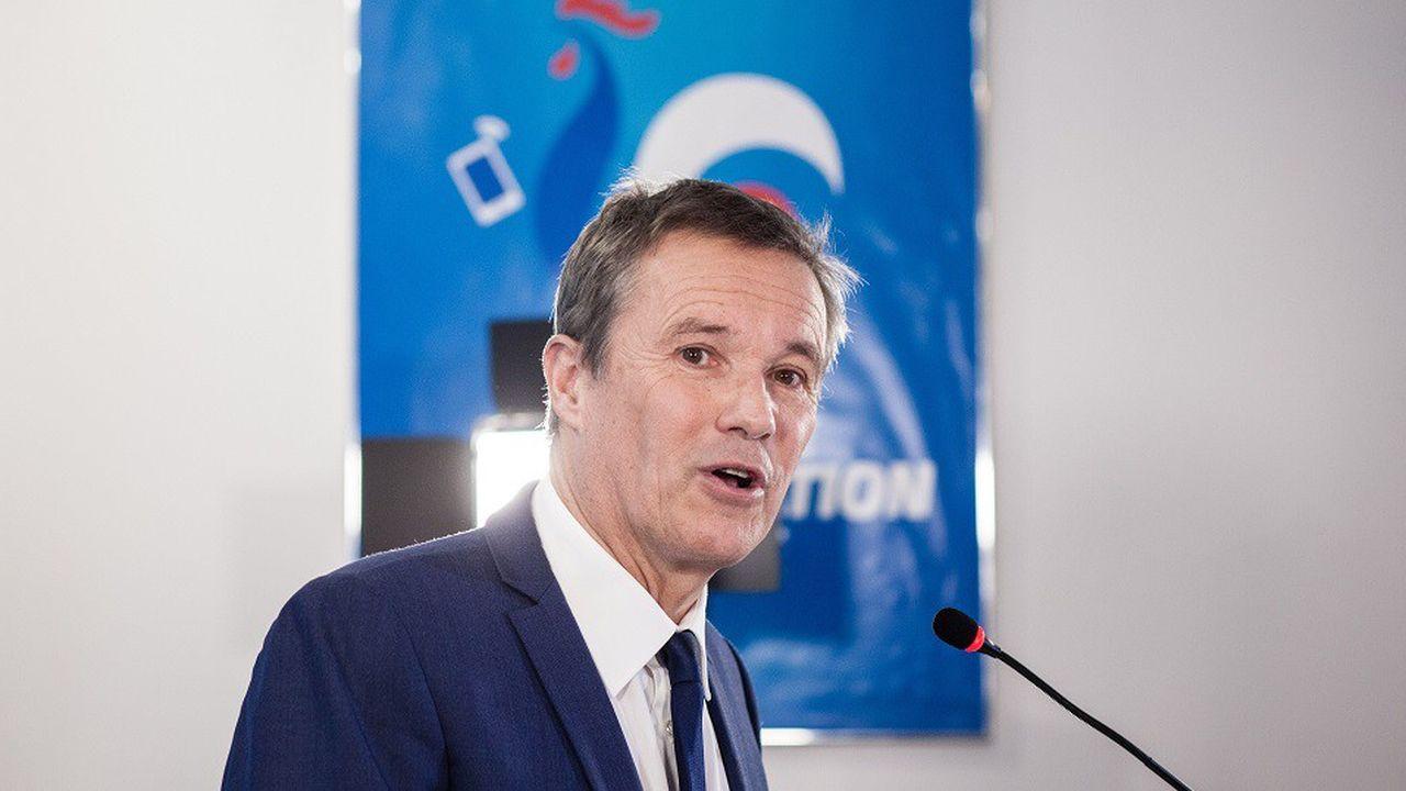 Nicolas Dupont-Aignan est l'invité du «Grand Rendez-vous».