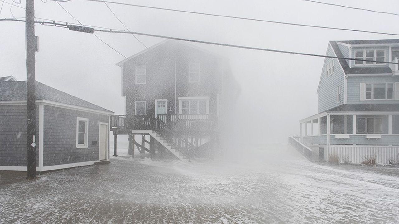 L'hiver rigoureux qui a touché les Etats-Unis l'an dernier, en obligeant les Américains à consommer davantage d'énergie, a été l'un des principaux facteurs d'augmentation des émissions de CO2.