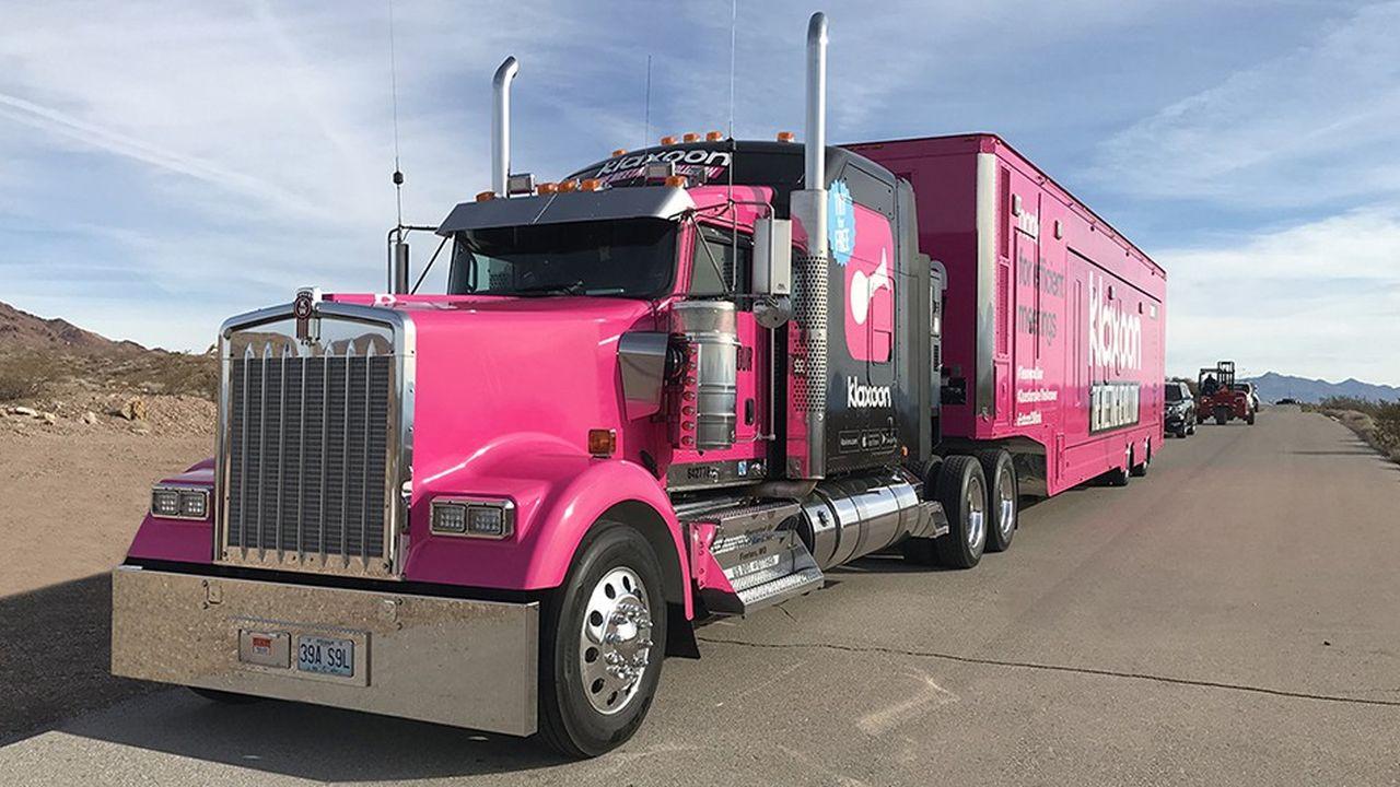 Klaxoon a lancé son roadshow américain dans le désert de Las Vegas.