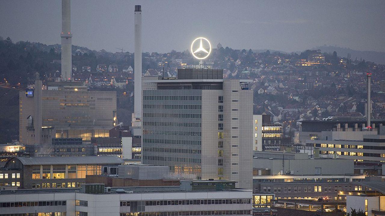 Le siège de Daimler à Stuttgart.