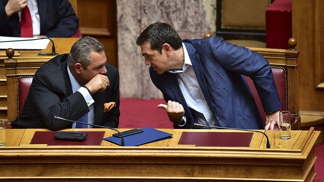 Panos Kammenos, le leader nationaliste des Grecs Indépendants, a démissionné dimanche de son poste de ministre de la Défense, brisant la coalition gouvernementale.