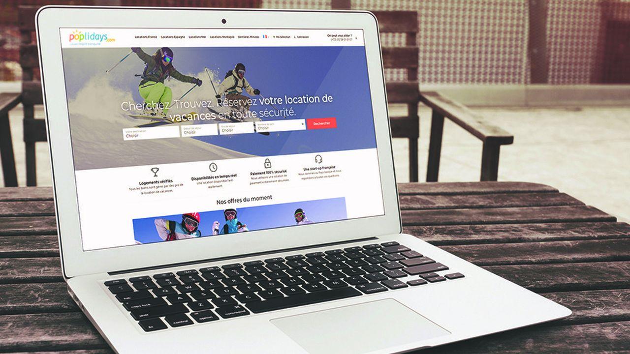 Poplidays propose des locations de vacances sur le Web sans court-circuiter les agents immobiliers .
