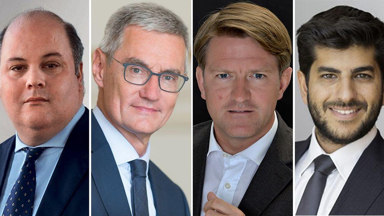 De gauche à droite: Vincent Mortier, Didier Saint-Georges, Igor De Maack et Roland Kaloyan.