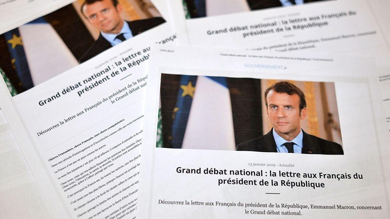 Emmanuel Macron est seulement le troisième président de la VeRépublique à écrire un courrier aux Français
