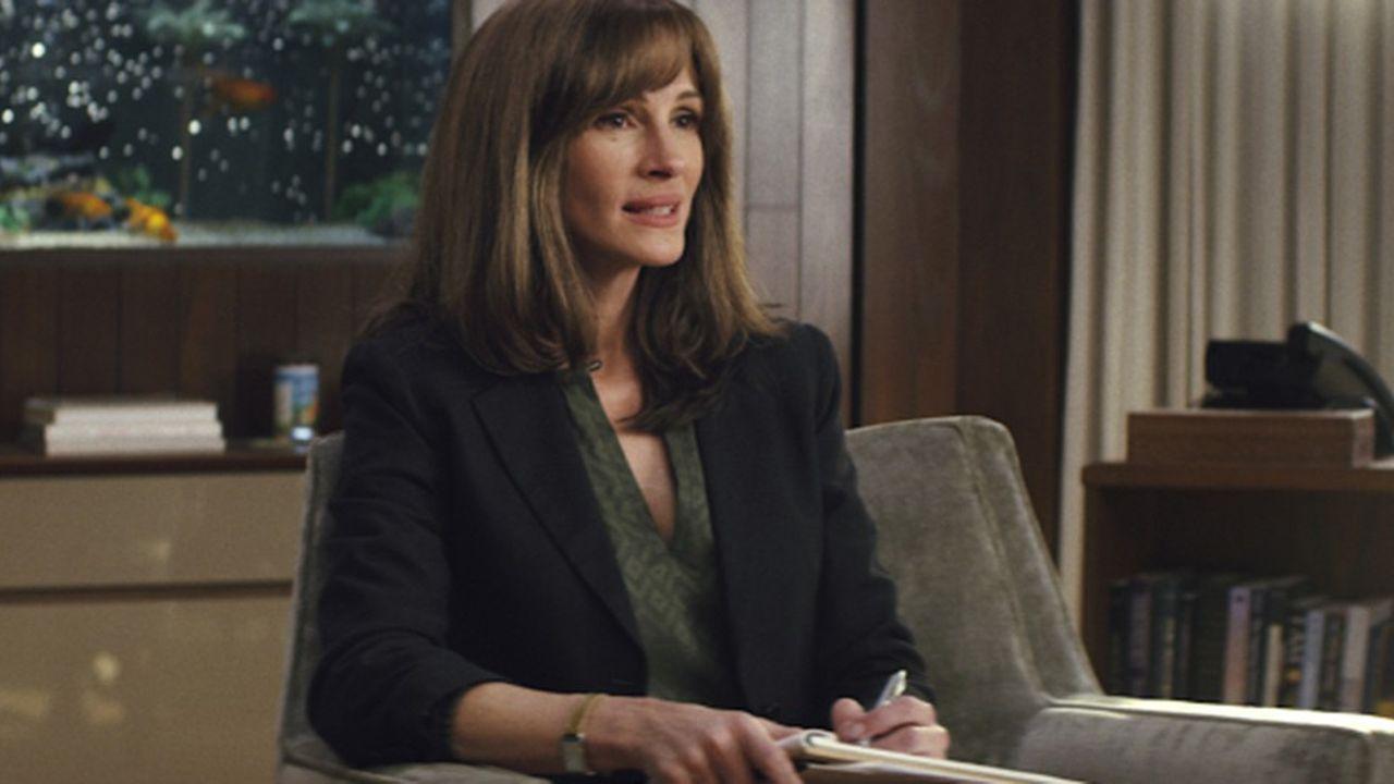 «Homecoming», un thriller sur une structure d'aide aux soldats souffrant de stress post-traumatique, avec Julia Roberts dans le rôle principal.