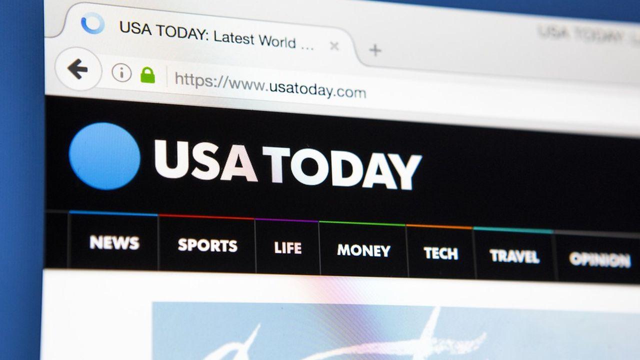 Basé en Virginie, le groupe Gannett est propriétaire du quotidien «USA Today» et de dizaines de titres locaux.