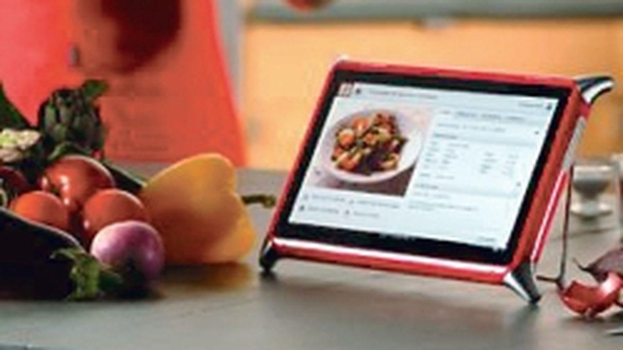 Unowhy Remet Le Livre De Cuisine Au Gout Du Jour Avec Une Tablette