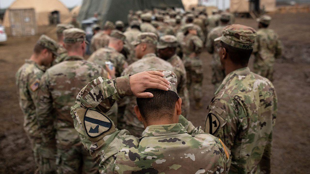 Près de 6.000 soldats ont été déployés à la frontière entre les Etats-Unis et le Mexique depuis novembre.