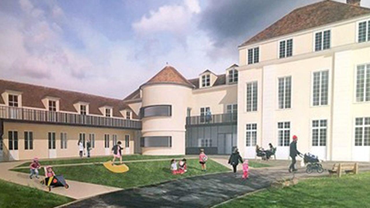 Projet de maison des parents à Margency.