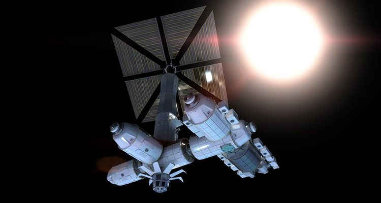 Axiom Space, la future station internationale (Nasa, Esa...) imaginée par Philippe Starck, celui qui a fait connaître le design aux Français.