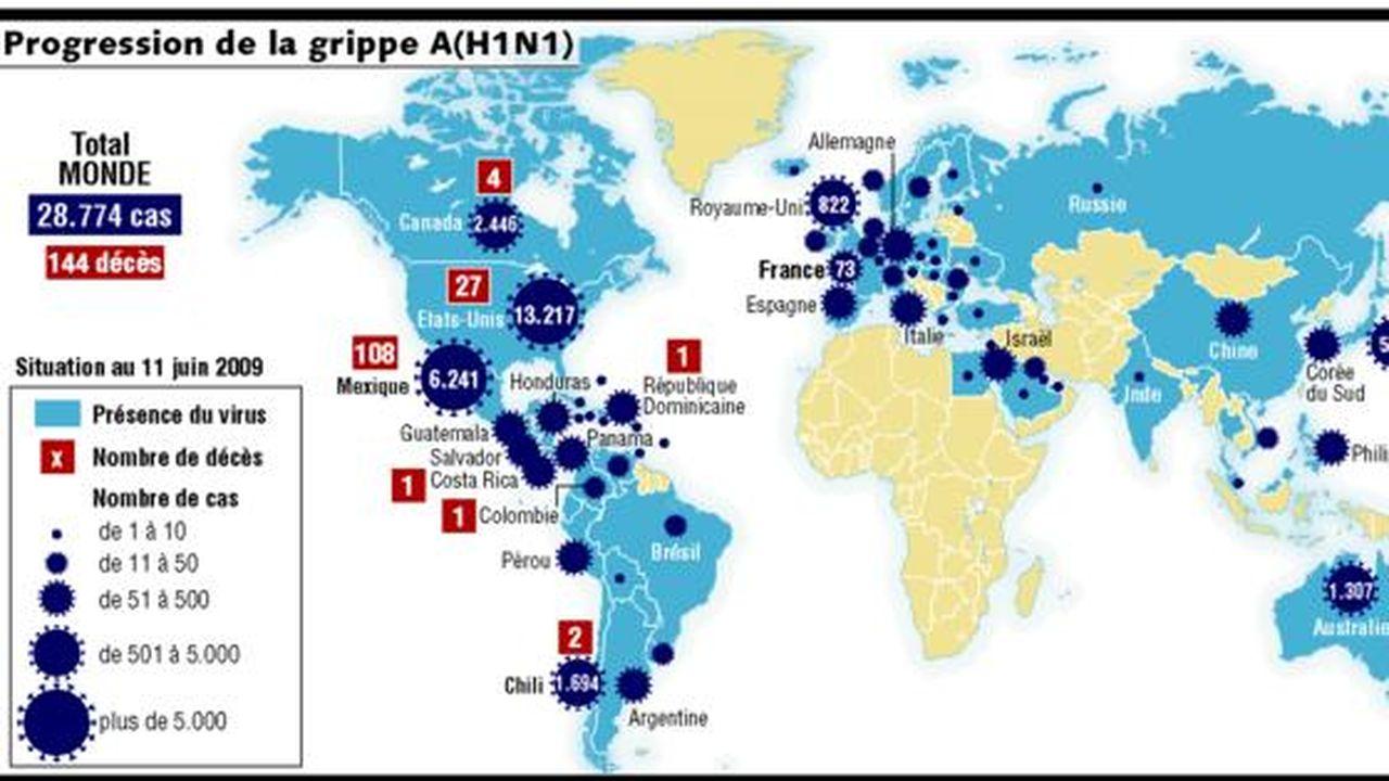 A(H1N1) : panique sur le pays