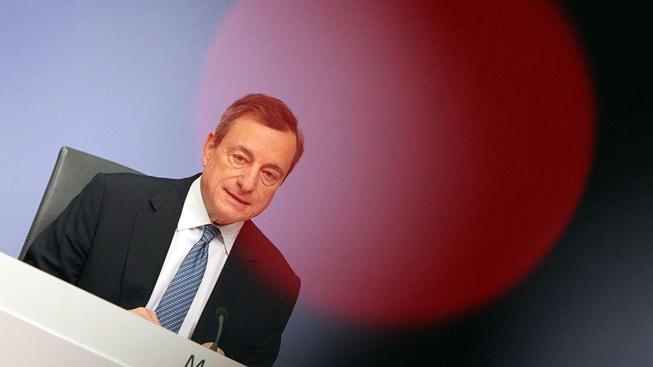 Le président de la BCE Mario Draghi est intervenu mardi au Parlement européen à l'occasion du vingtième anniversaire de l'euro.