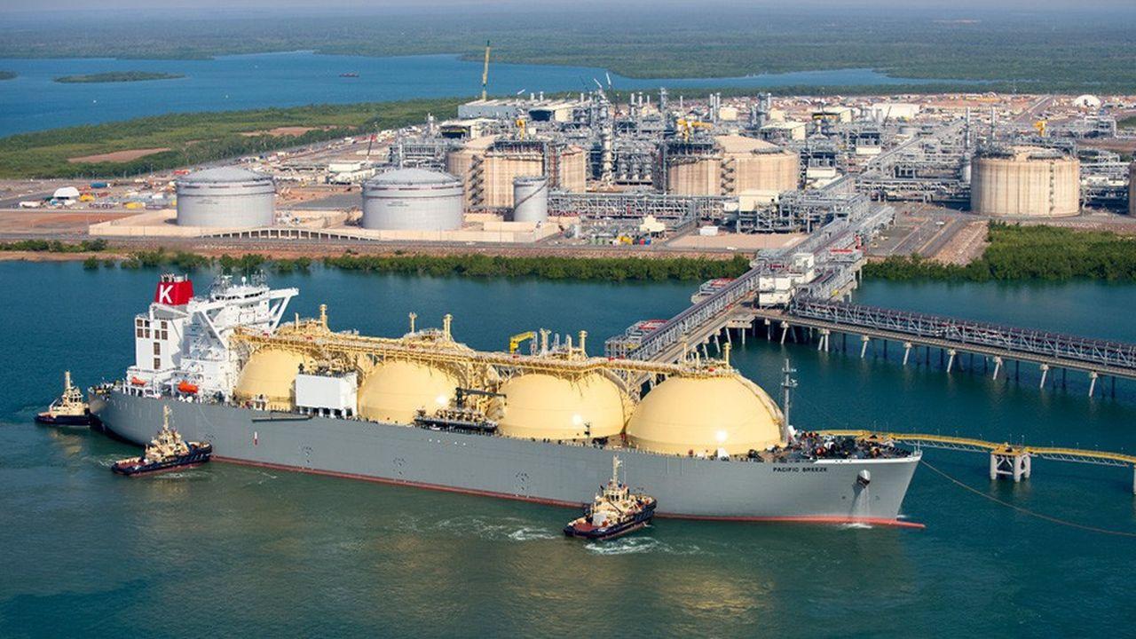 Le projet Ichthys, dans le nord de l'Australie, porté par le japonais Inpex et le français Total, a commencé à exporter du GNL vers l'Asie en octobre dernier.