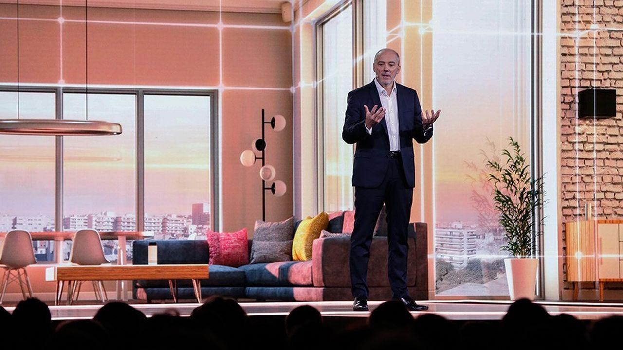Mi-décembre, le PDG d'Orange, Stéphane Richard, avait présenté ses ambitions dans la domotique lors de son Show Hello annuel