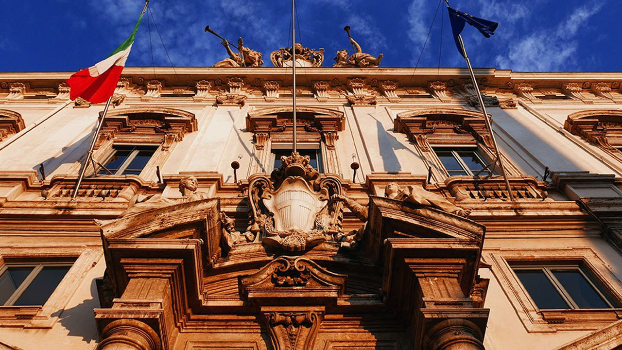 La Cour constitutionnelle de la République italienne.