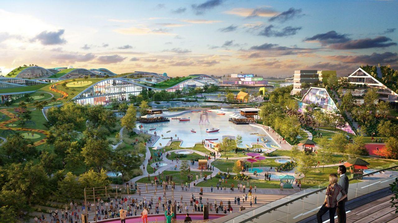 EuropaCity serait le plus gros investissement privé en France depuis la construction de Disneyland Paris en 1992.