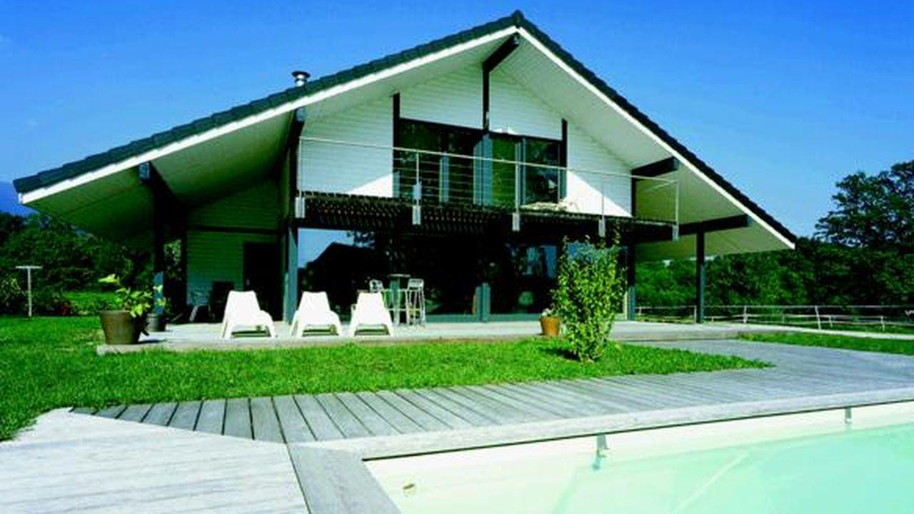 Maison Ossature Bois Suede emois et bois | les echos