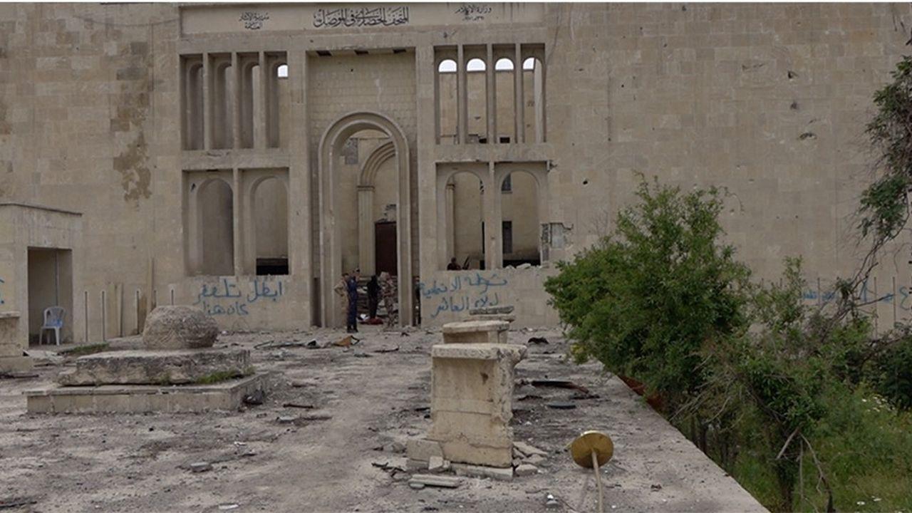 Le musée de Mossoul, l'un des chantiers de l'Aliph
