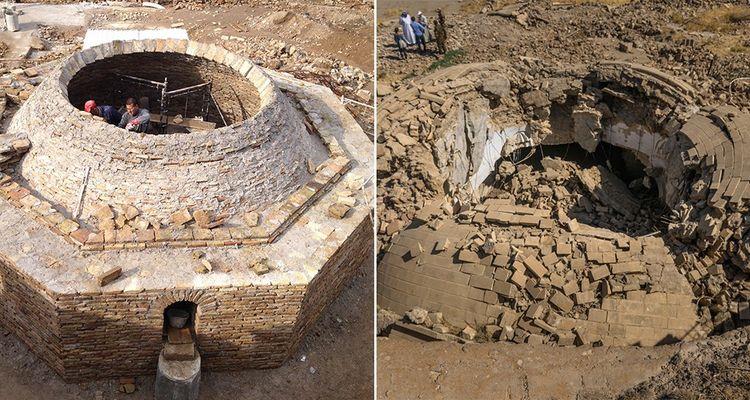 Le monastère Mar Belham en Irak