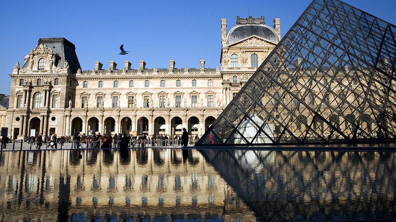 Le Louvre a été le musée le plus fréquenté du monde en 2018, avec 10,2 millions de visiteurs.