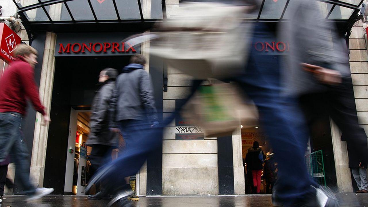 Monoprix a progressé de 0,5% au quatrième trimestre en comparable.