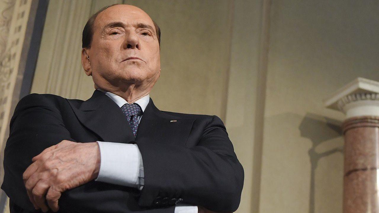 Silvio Berlusconi se lance à 82 ans dans la campagne électorale pour les élections européennes de mai2019.