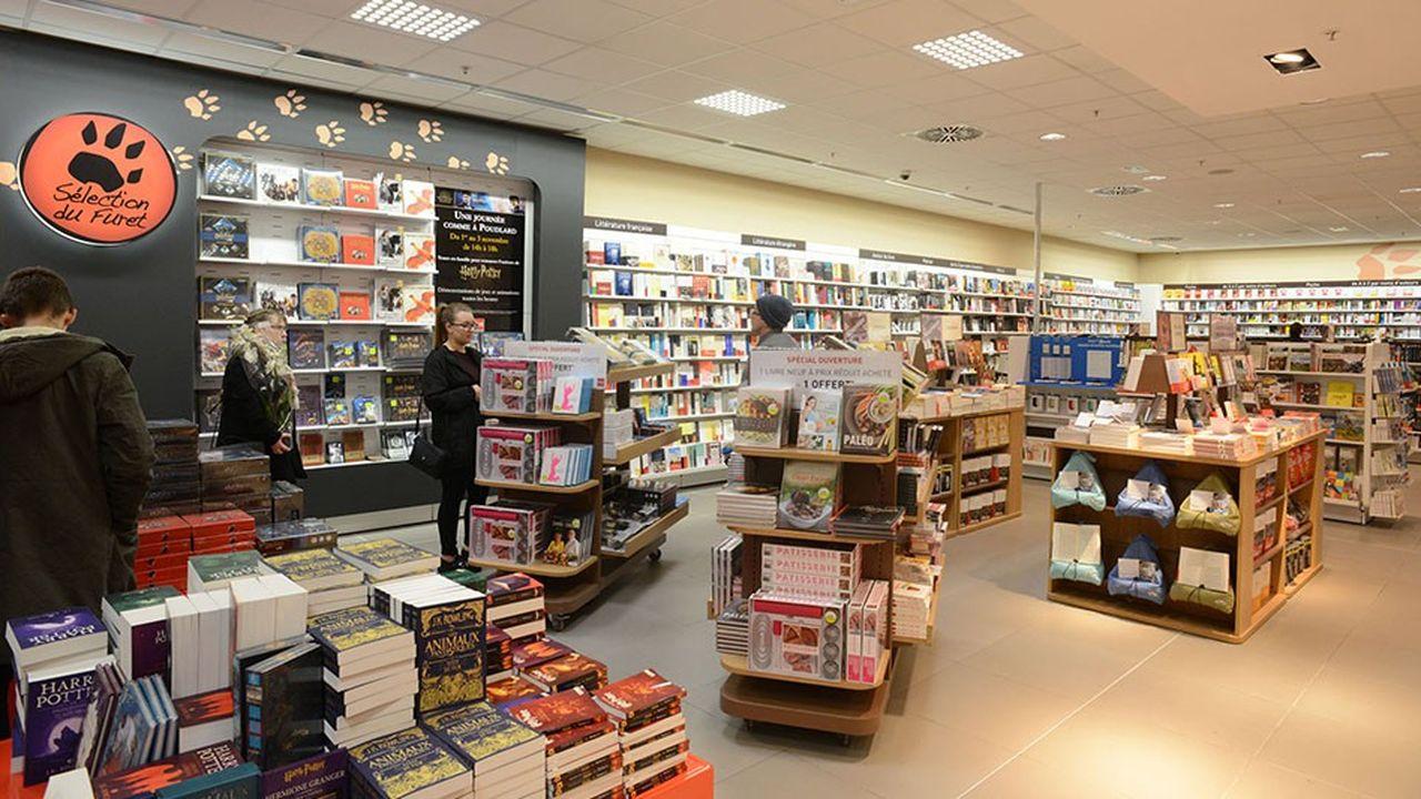 Librairie du Furet du Nord à Louvroil (Nord).