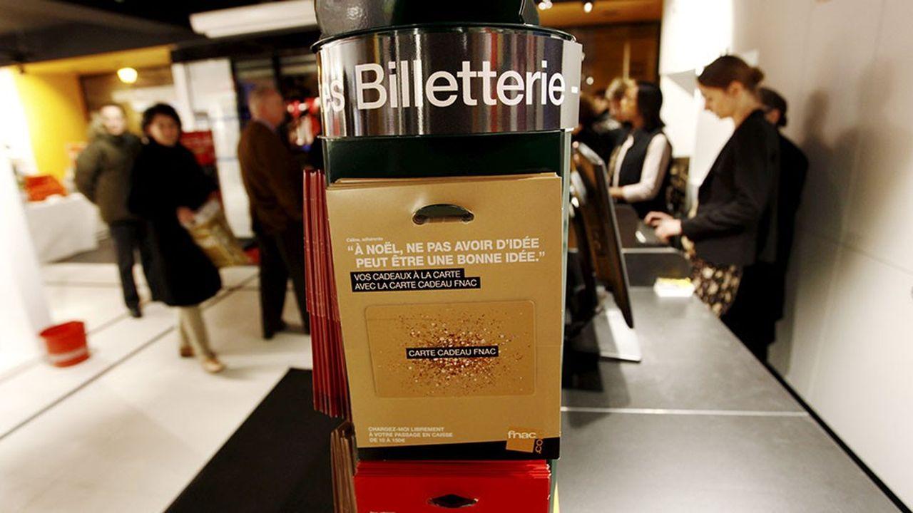 La FNAC est leader de la vente de billets de spectacle avec France Billet