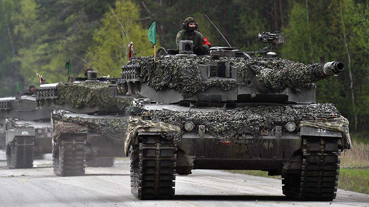 L'Allemagne est le quatrième exportateur mondial d'armes derrière les Etats-Unis, la Russie et la France.
