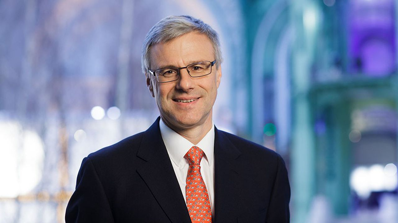 Alain Dehaze PDG d'Adecco et ex- président d'Adecco France.