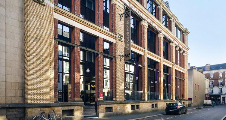 Tous les Mercure ne se ressemblent pas. Celui de Rennes est installé dans l'ancienne imprimerie de «Ouest France».