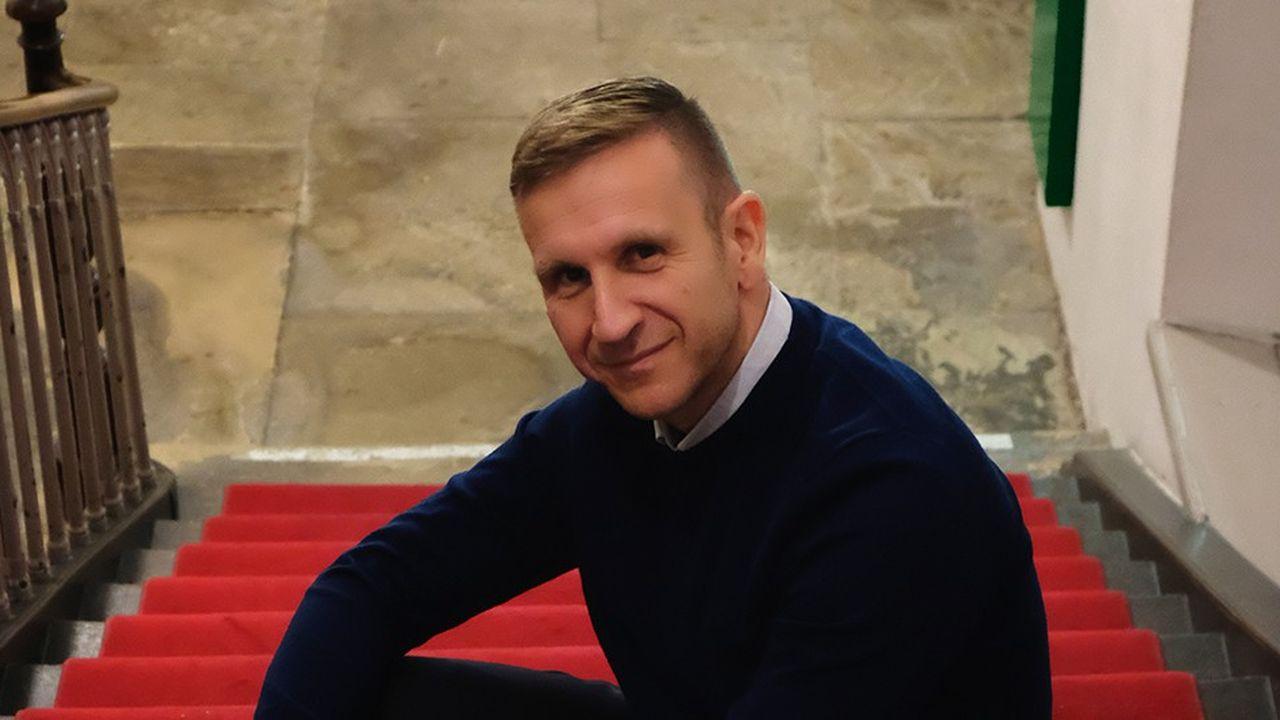 Philippe Dolfus, directeur du Centre culturel de rencontre (CCR) Les Dominicains de Haute-Alsace, au nord-ouest de Mulhouse.