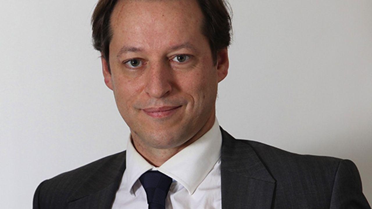 Jean-Noël de Galzain, le président d'Hexatrust, un groupe de 51sociétés françaises de cybersécurité.