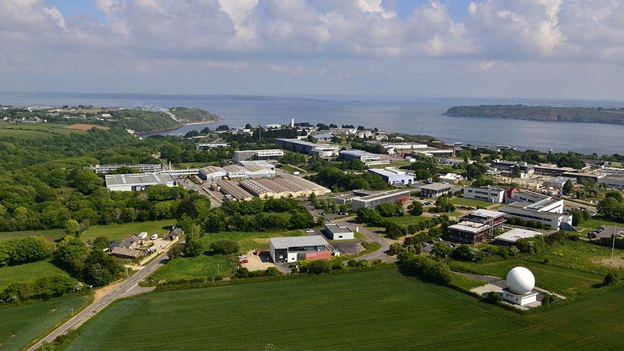 Zone d'activité qui abrite le technopole de Brest Iroise.