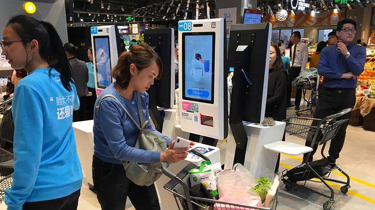 Les Chinois font plus attention à leurs achats.