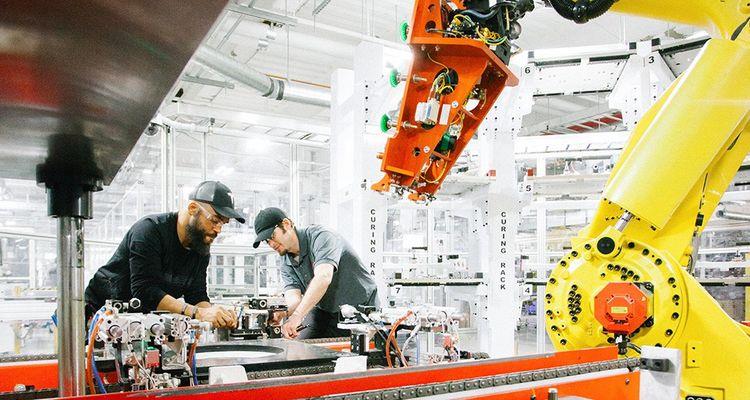 La «gigafactory» de Reno produitles batteries et les moteurs de la Model 3, ainsi que les batteries stationnaires Powerwall et Powerpack.