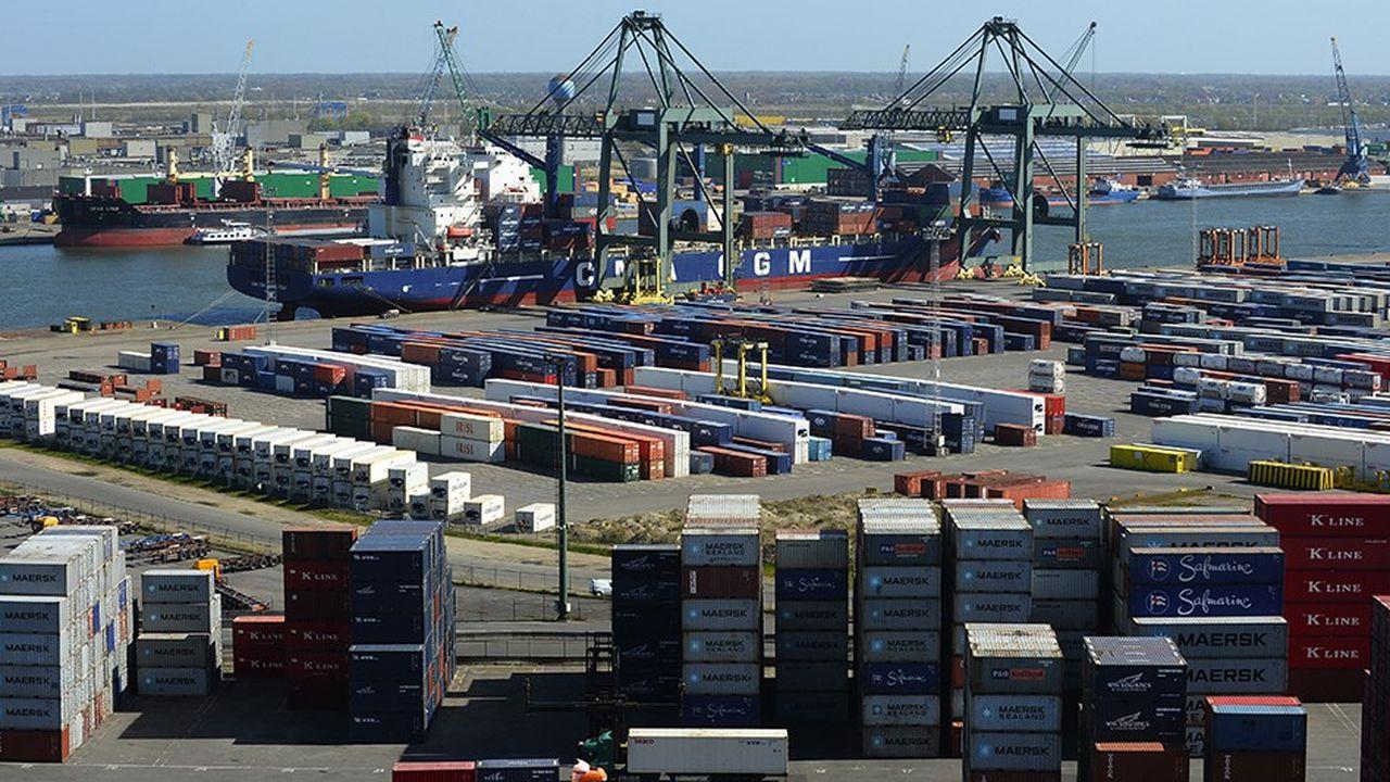 Le trafic de conteneurs du port d'Anvers a, une nouvelle fois, fortement progressé en 2018, de 5,8% sur un an.
