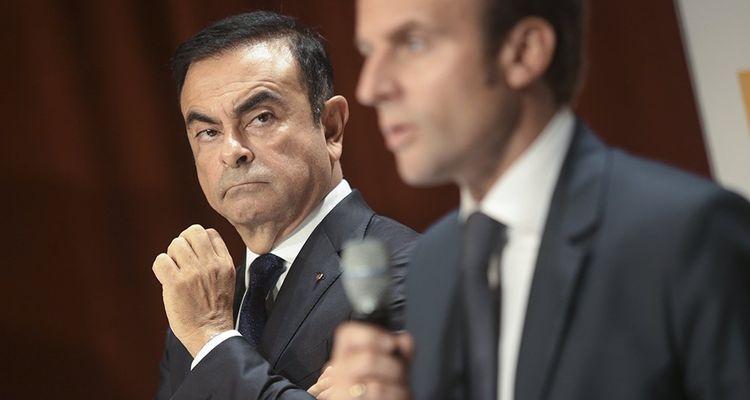 A son époque Bercy, le président avait tancé Carlos Ghosn dans une interview fracassante aux «Echos», en 2015: «Il est PDG, pas actionnaire!»